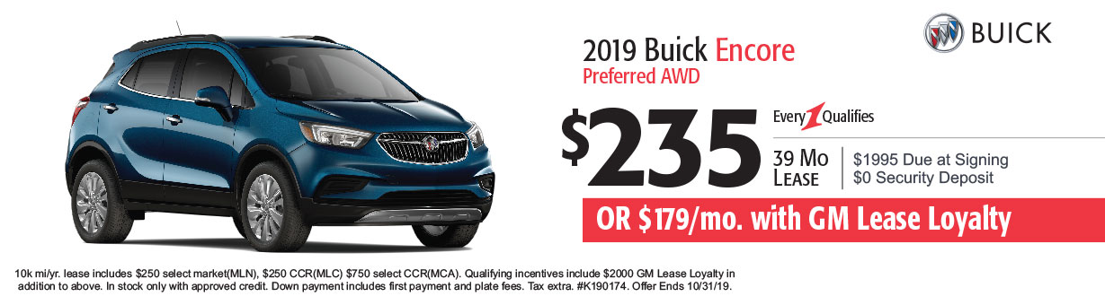 Buick Lease Specials