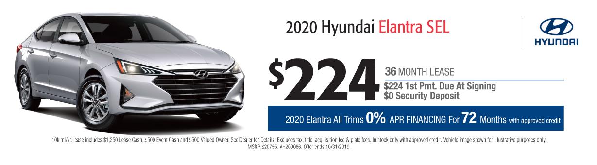 Hyundai Lease Specials