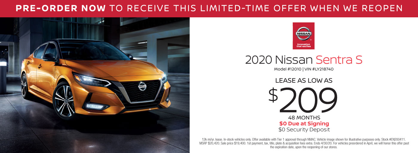 Nissan Lease Specials