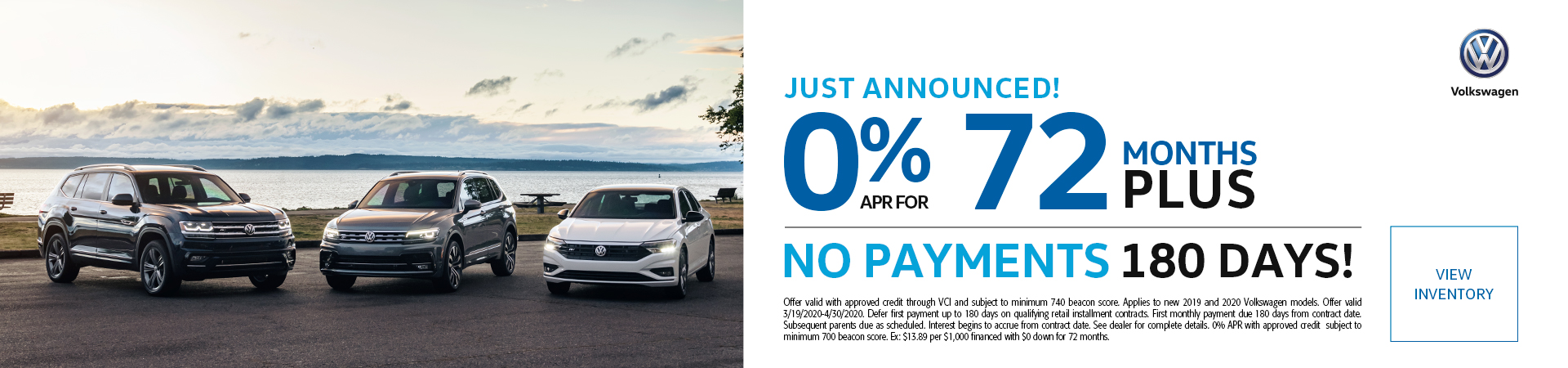 VW Lease Specials